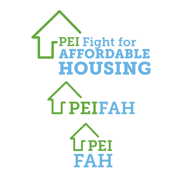PEI Fight For Affordable Housing - Branding